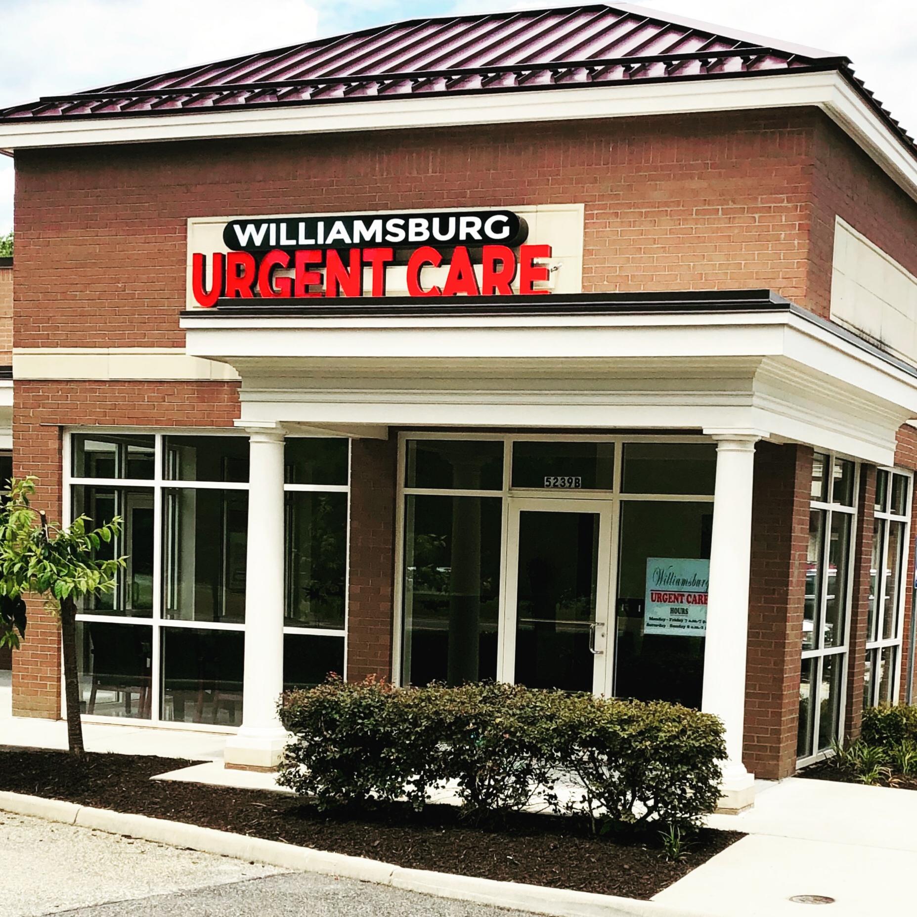 Williamsburg Urgent Care Williamsburg Va Williamsburg Va